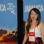 Maria Fernanda Lamilla, do Escritório de Turismo da Jamaica