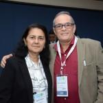 Maria Fonseca, da Abav-AM, e Carlos Dourado, da Abav-RR