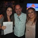 Mariana Fiore, da Aeromexico, também ganhou o sorteio