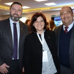 Mauricio Souza, Carol Caputo e Emerson Zanholo, do Intercontinental