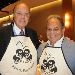 Michel Tuma Ness, da Fenactur, e Ricardo Lopes, da TBN