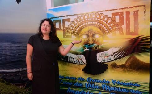 Peru vira enredo de escola de samba em São Paulo