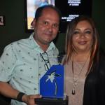 Ney Neves, da AMResorts, e Rosy Domínguez, diretora de Vendas do Dreams Riviera Cancun