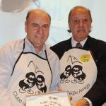 O candidato ao Senado Federal pelo RJ, César Maia, com Michel Tuma Ness, foi homenageado pelo Clube do Feijão Amigo