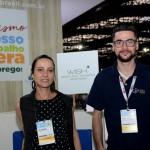 Paula Pinheiro e Mauricio Pimenta, da GJP