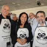 Paulo Senise, da Turisrio, Angela Senise, da Brazil Destination, e Fernando Alzuguir, da Turisrio