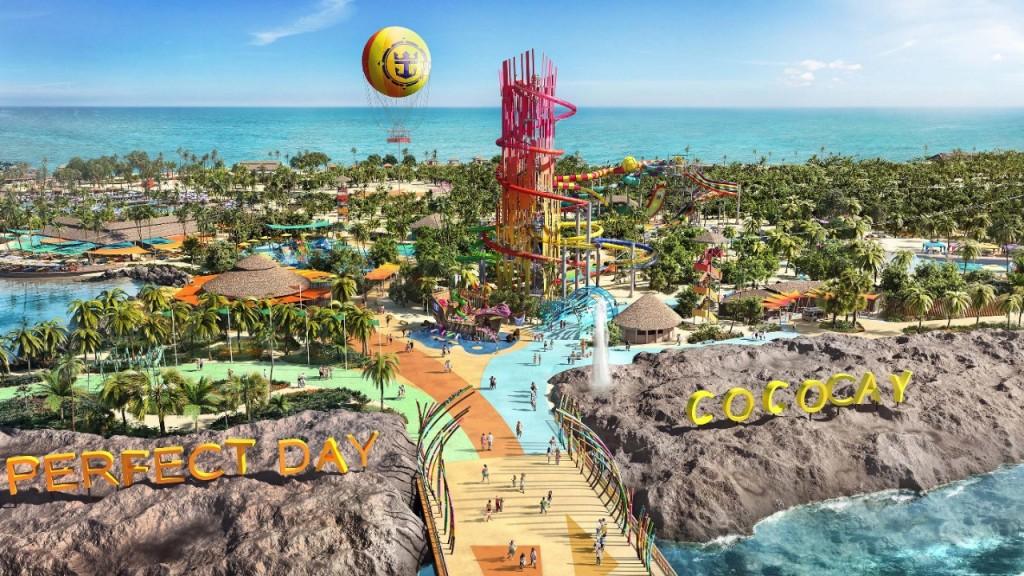 Perfect Day at Cococay será inaugurada em maio de 2019
