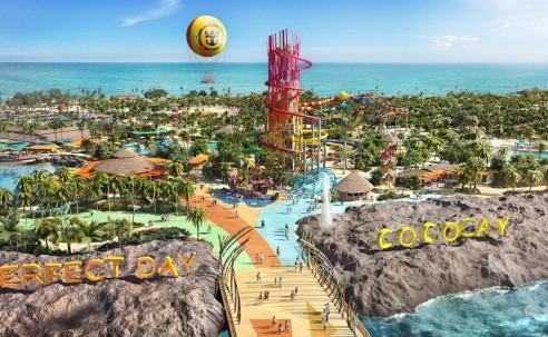 """Royal Caribbean apresenta """"Perfect Day at Cococay"""", sua ilha privativa nas Bahamas; veja fotos"""