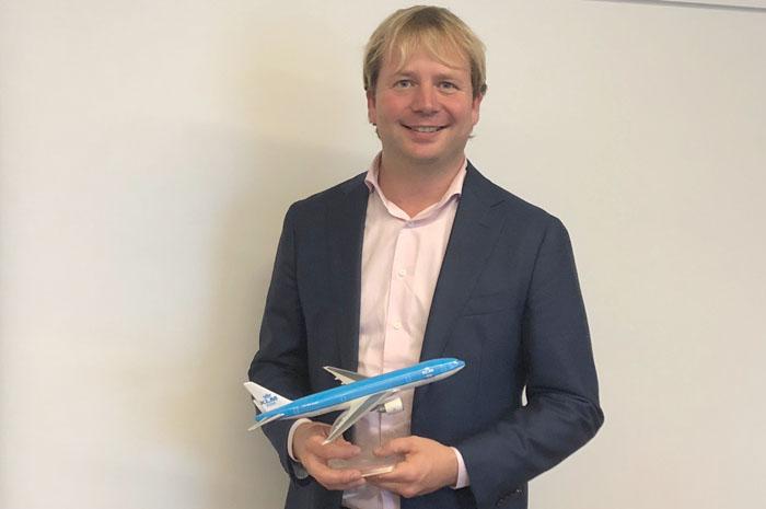 Pim Neijenhuizen, gerente de Desenvolvimento de Costumer Care da Air France-KLM