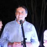 Prefeito de Foz, Chico Brasileiro, saúda os participantes do evento
