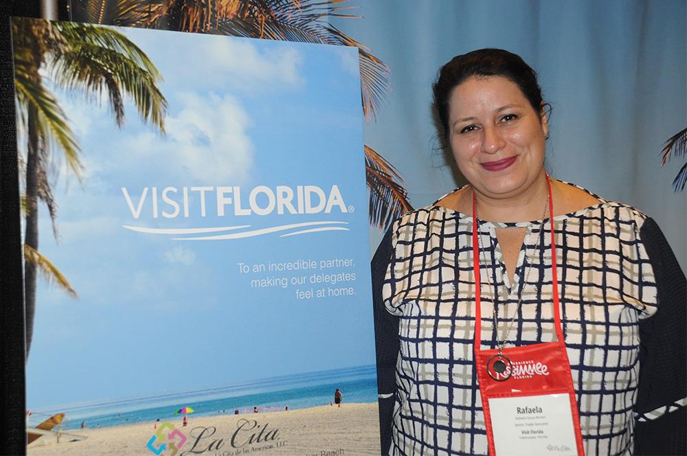 Rafaella Brown, do Visit Florida