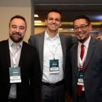 Renato Kiste, Alexandre Pinto e Marcel Ito, da Shift