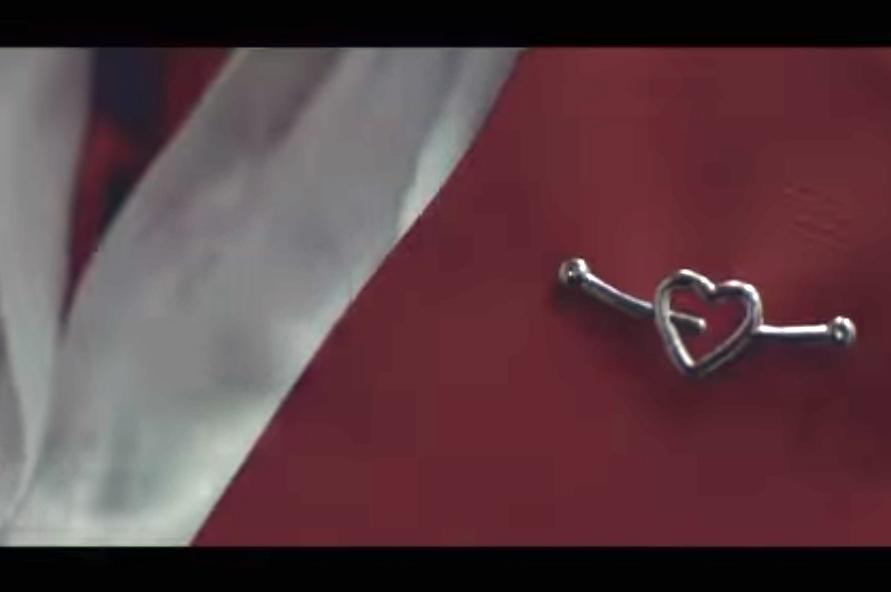 Reprodução de um dos vídeos da campanha
