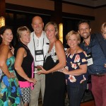 Rick Still, diretor do La Cita, com equipe e família
