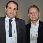 Roberto Bertino, presidente da Nobile Hotéis, e Orlando Souza, do FOHB