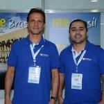 Roberto Roman e Roberto Oliveira, da Travel Ace