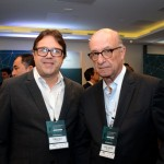 Romulo Silva, da Accor Hotels, e Rafael Guaspari, do Grupo Nobile