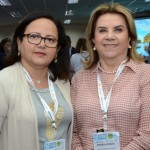 Rose Larrat, da Abav-PA, e Diassis Rosado, da Abav-RN