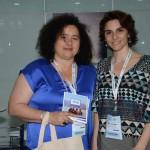Sandra Nazar, do ministerio de cuktura e turismo de Jujuy, e Natalia Pisoni, da Inprotur
