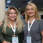 Socorro Pereira e Dina Mourão, da Abav-AP
