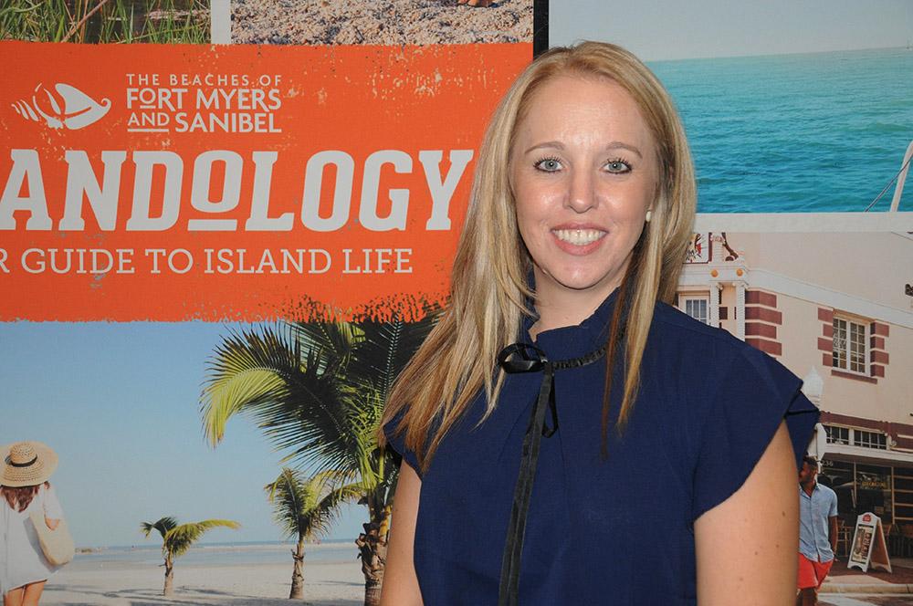 Stefanie Zinke, do Beach of Fort Myers