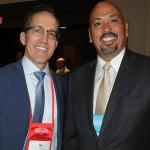 Tim DeClaire, do Visit Florida, e Alfredo Gonzalez, da AG Hospitality