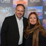 Tody Navarro, da R11, e Claudia Mendonça, da Paradise Turismo