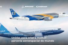 Boeing e Embraer criam website para divulgar benefícios de Joint Venture