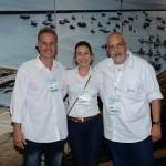 Victor Fonseca, Silvana Lins e Luiz Castro, da Bahiatursa