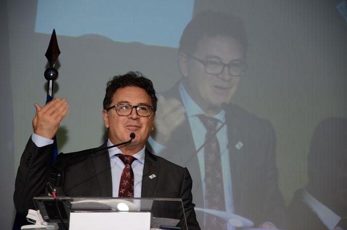 Vinicius Lummertz, Ministro do Turismo.