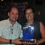 Yanna Pinheiro, da GW, foi a vencedora na categoria Agente de Viagens