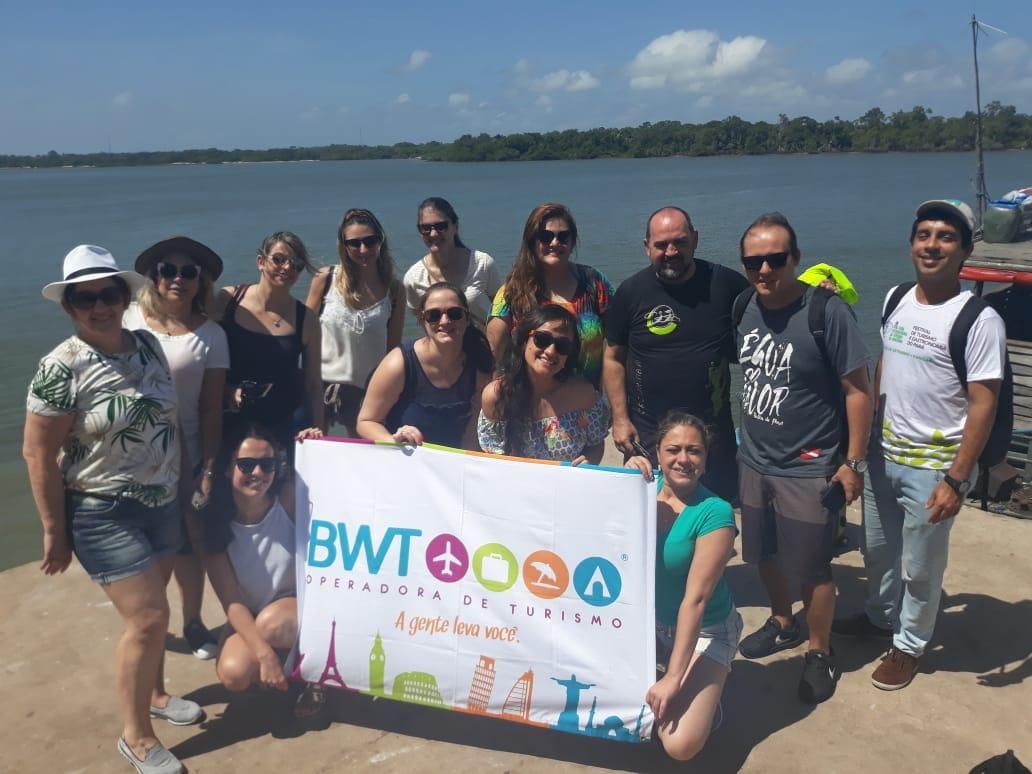 Ação é resultado de campanha de incentivo que reuniu 10 profissionais do trade turístico