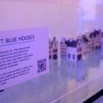 A Holanda, casa da KLM, também faz parte da exposição