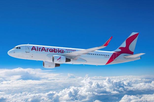 Nova pintura das aeronaves da Air Arabia (Foto: Reprodução/Air Arabia)