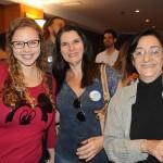 Aline Scop, da Aline Tour, Cristina Reis, e Rosa Maria, da RMB Viagens