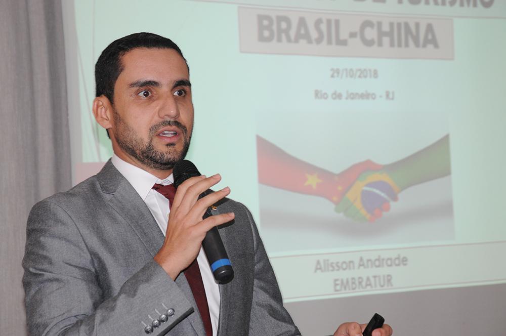 Alisson Andrade, coordenador-geral de Inteligência Competitiva e Mercadológica da Embratur