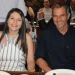 André Mello, da Pedro Mello Turismo, e Ana Paula Pereira, da Home Travel Agency