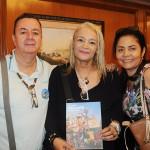 Ary Lima, do Roteiro de Sonhos, Luciane Proença, da MGF Turismo, e Rosana Bonfim, da RBM Tour