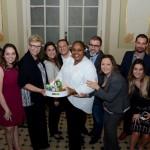 Barbara Picolo e Georgia Mariano, da Flytour MMT Viagens recebeu a homenagem da Disney