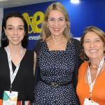 Bianca Pizzolito, Luciane Leite e Valeria Henriques, da WTM-LA