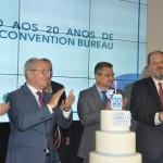 Bolo de comemoração dos 20 anos do centro de convenções