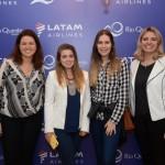Carla Oliveira, Marcela Benassi, Marcela Schikovski e Fernanda Assef, do Grupo Rio Quente