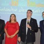 Celso Ricci, Viviane Pessoa, Roberto Duran e Paulo Gaudenzi, diretoria do Salvador Destination