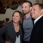 Cinthia Douglas, Angel Sarria e Luiz Araujo Jr, da Disney