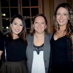 Cinthia Douglas, da Disney, entre Thalita Carrião e Luana Barbosa, da CVC Corp