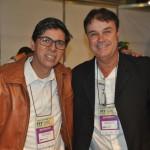 Cléber Oliveira e Claudio Machado, da Rede Soberano