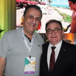 Claiton Armelin, da CVC, e Manoel Linhares, presidente da ABIH Nacional