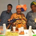 Coquetel da Bahia contou com caipirinhas, bobó e Vatapá no estande do M&E na FIT 2018