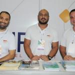 Eduardo Lira, Carlos Lima e Diego Camara, da RCA