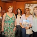Eliane Lessa e Katia Breia, da Promotional Travel, Simone Valente, da KnowHow, e Patricia Valois e Jandyra Coutinho, da Promotional Travel